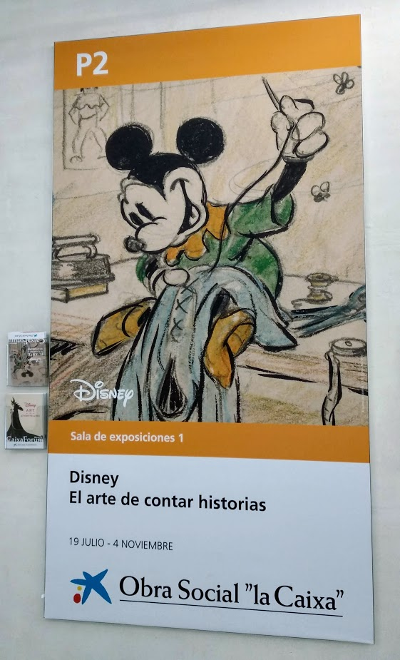 Exposición Disney en Caixaforum Madrid